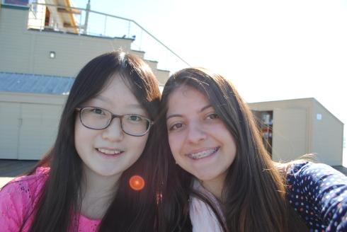 Jennifer, ela é da China e estamos bem amigas :D