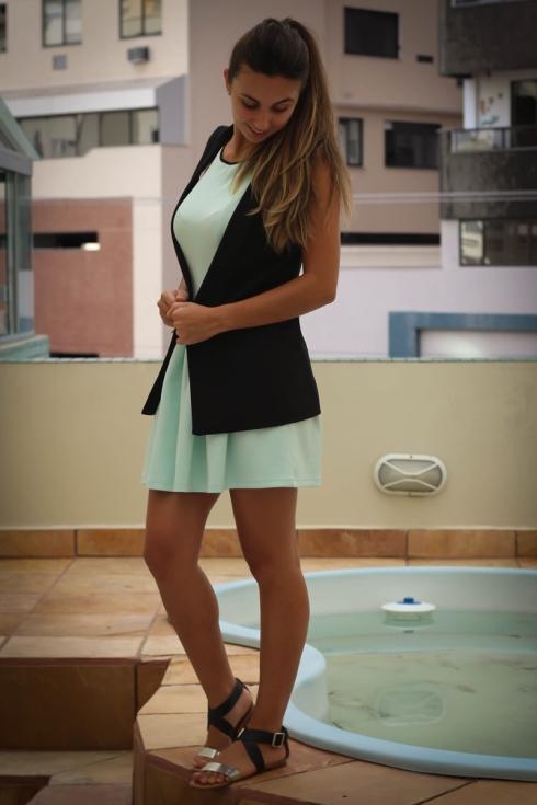 Colete + vestido
